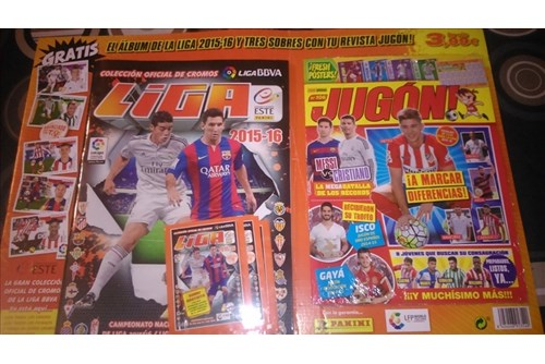 ALBUM  FUTBOL LIGA 10   REVISTA 1617 PVP 5eur_1000251_030147